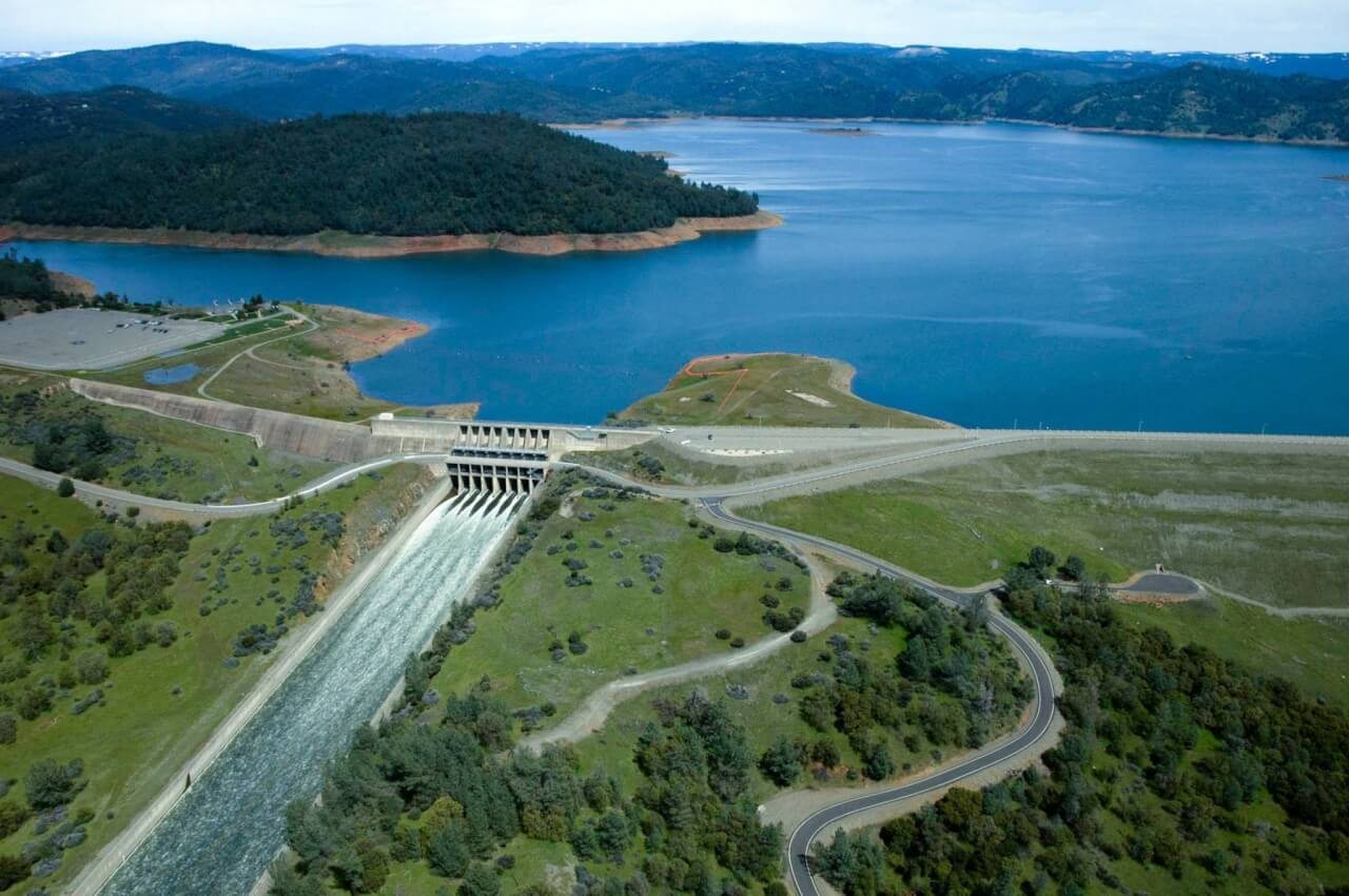 Lake Oroville - BEFORE