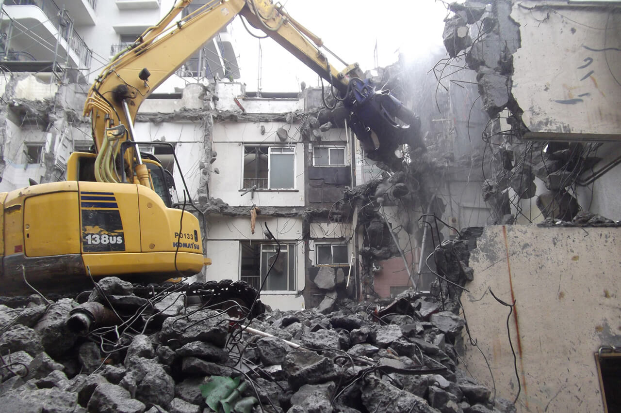 家屋がどのような順序で壊されるか知りたい!