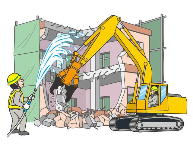 解体工事はその場所をリセットし新しい建築物へつなげる仕事