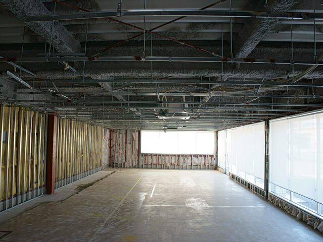 店舗やオフィスの内装解体 ② ~ 内装解体の工事の流れとは ~